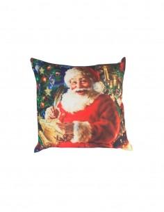funda cojin navideño