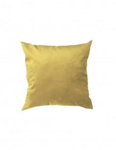 Cojin velvet dorado 40x40 cm.