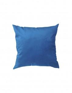 Cojin velvet azul rey 40x40...